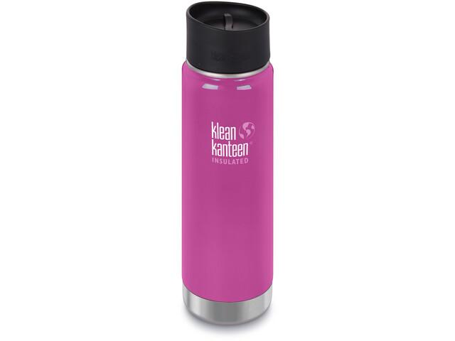 Klean Kanteen Wide Vacuum Insulated Bottle Café Cap 2.0 592ml Wild Orchid